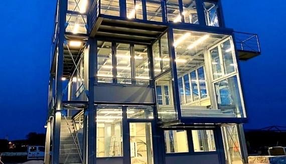 Sabaudia va avanti, è pronta la nuova Torre d'arrivo alla Marina Militare